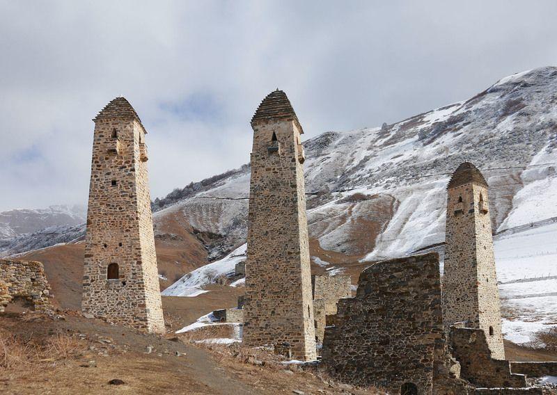 Россия, Кавказ, Ингушетия, Эрзи, башни, #rtgtv Стражи горphoto preview