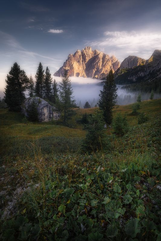 italy, dolomites, passo falzarego, mountain, горы, доломиты, италия Passo Falzarego Dolomitesphoto preview