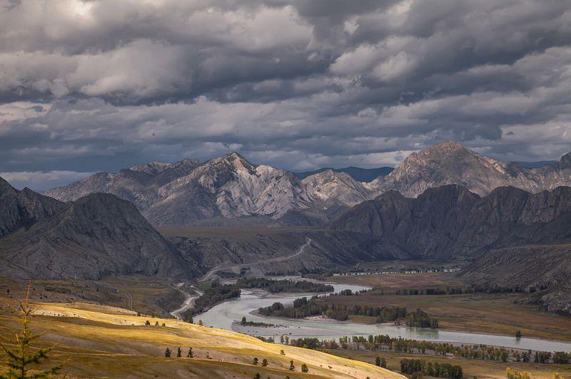 алтай, горы , катунь, осень Алтай. Сентябрь 2020photo preview