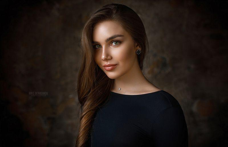 портрет девушка взгляд portrait красиво Настяphoto preview
