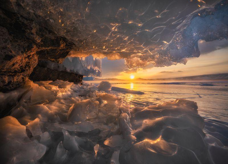 Золотой лёд.photo preview