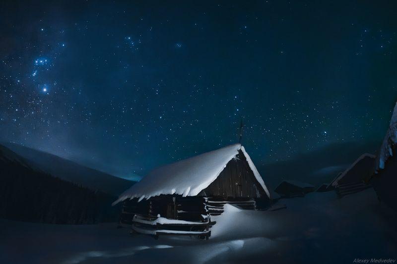 гори, зима, Карпати, Свидовець, Carpathians, колиби, Svidovets, tatul, татул, грунь, татульський Татул новогоднийphoto preview