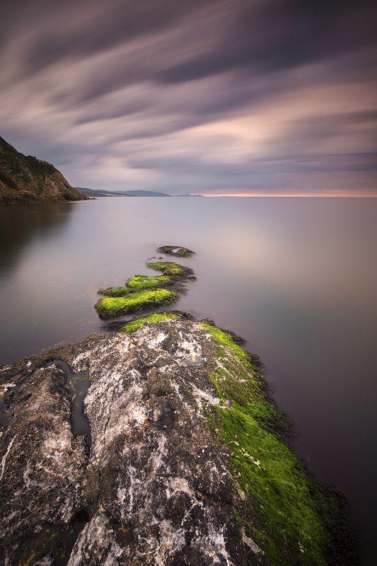 landscape, seascape, winter, nature, sea, rock, cloud, long exposure Stepsphoto preview
