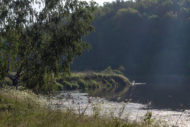 лето, река, утро, Тихое утроphoto preview