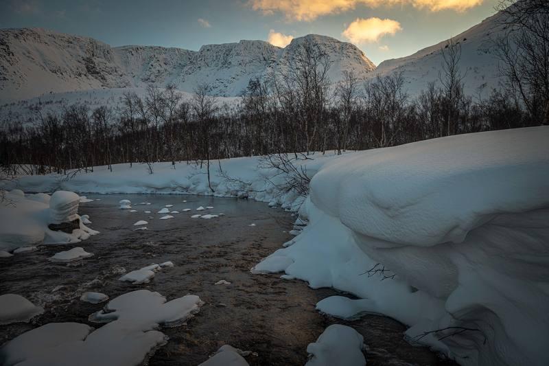 Ручей под пер. Географов , Хибины.photo preview