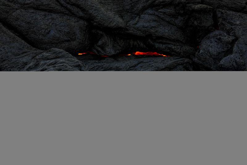 абстракция,лава,извержение,вулкан,исландия Крик из преисподнейphoto preview