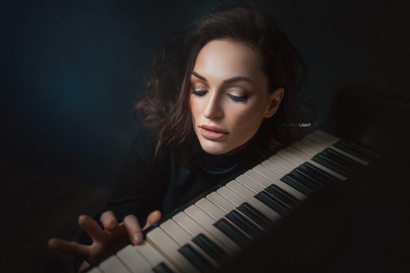 портрет, portrait, девушка, girl, макияж, хочуlightфото Галинаphoto preview