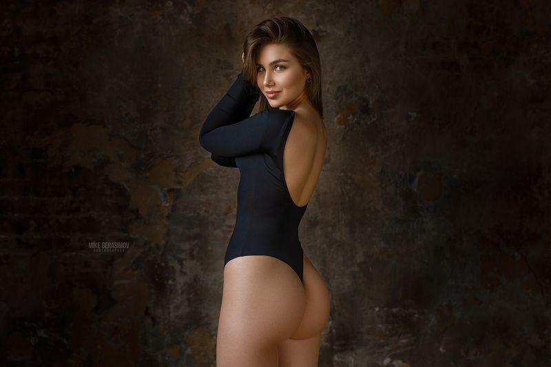 портрет девушка взгляд portrait белье красиво Настяphoto preview