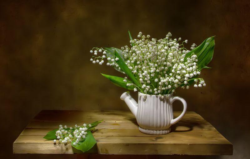 натюрморт, фотонатюрморт, ландыши, весна Нежность весенняя..photo preview