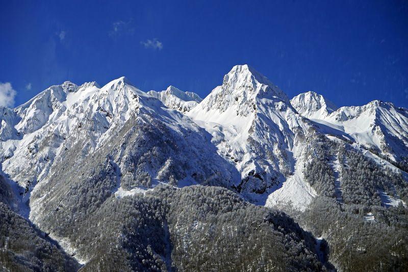 март горы Хребет Аибга.photo preview