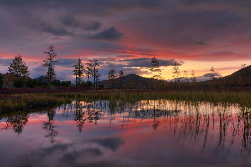 Колымский рассвет...photo preview