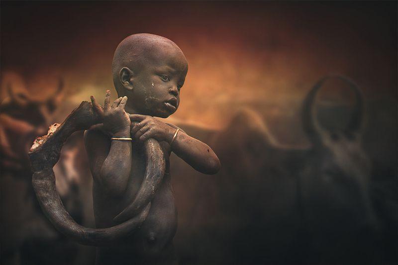 Mursi child IIphoto preview