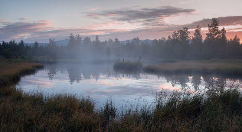 пейзаж,россия,кольский,север,небо,рассвет,отражение photo preview