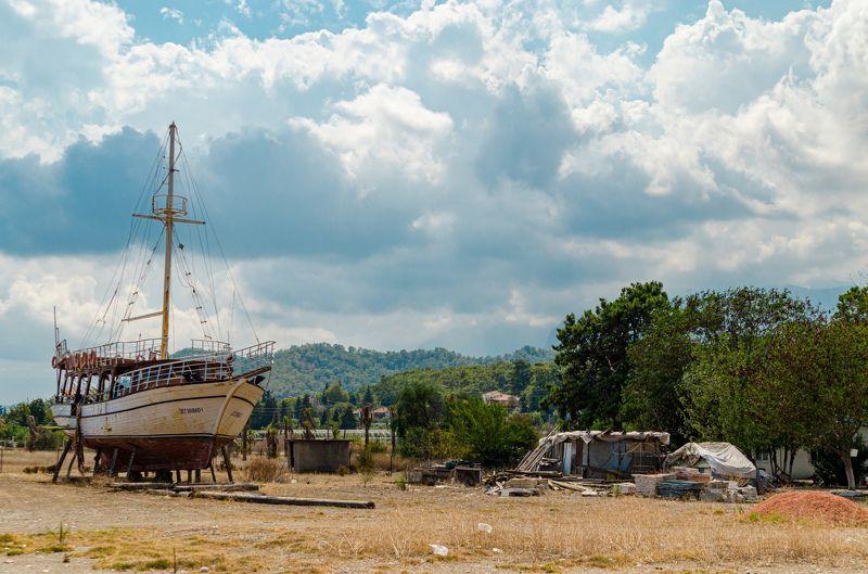 Abandoned,ship,turkey,landscape,scape Abandoned shipphoto preview