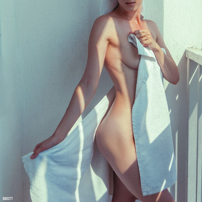biocity, girl, nude, девушка, ню, солнце, towelsphoto preview