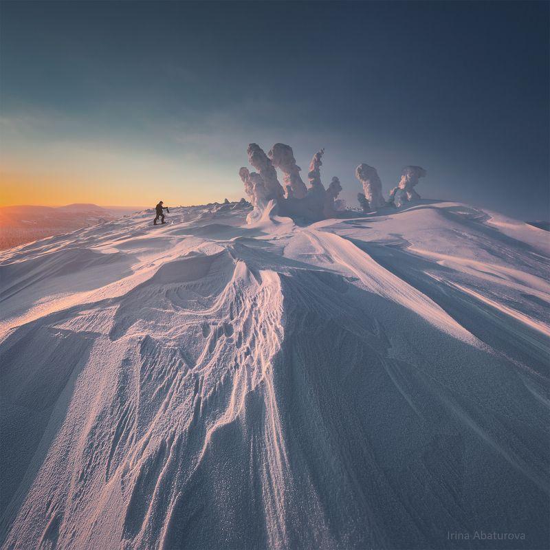 ГУХ, Урал, север, снег, мороз Стремление вверхphoto preview