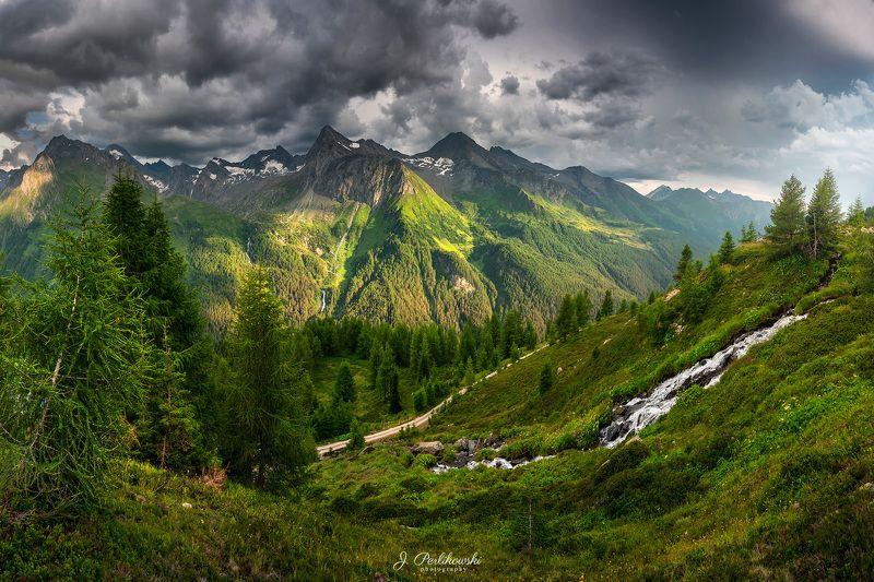alps, mountains, roam Green landphoto preview