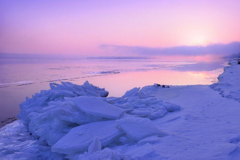 Встретить восход, и берегом обратно.photo preview
