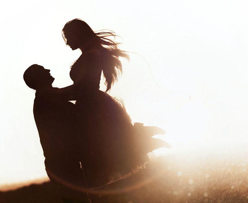 семья,закат,силуэт,мгновение Косичка на удачуphoto preview