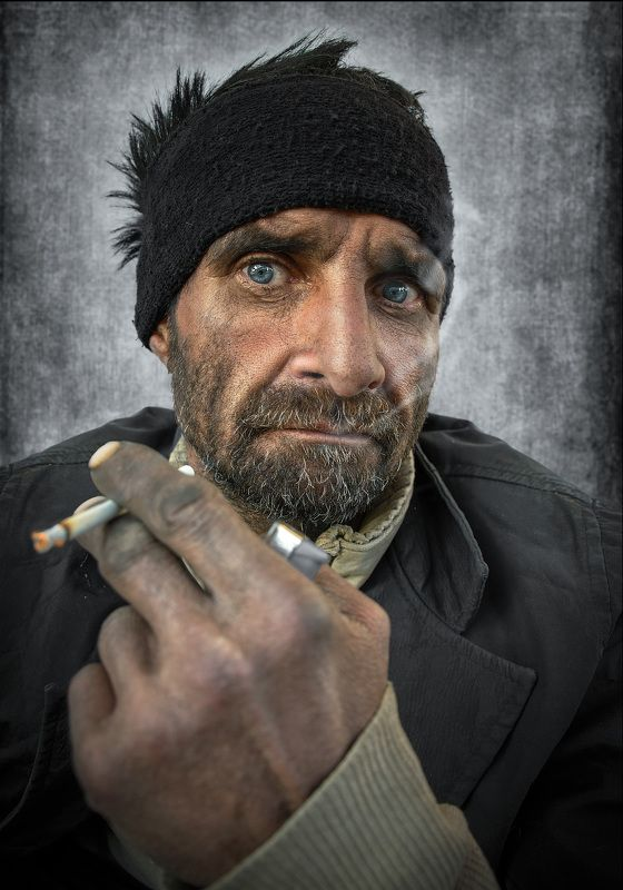 #people, #portrait, #face, #skin, #look, #eye, #human, #smoke Staringphoto preview