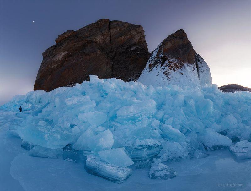 Байкал, лед, торосы, голубой лед, мыс Хобой Торосы у мыса Хобойphoto preview