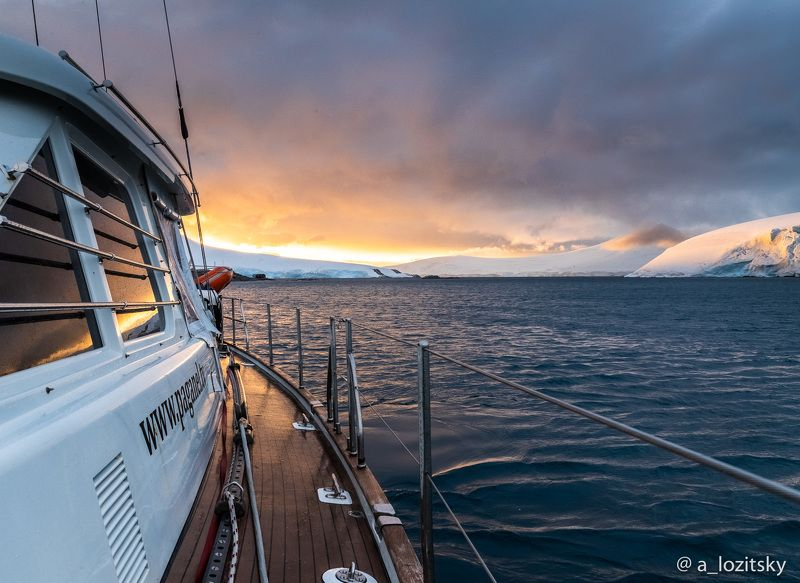 Arctic sunsetphoto preview