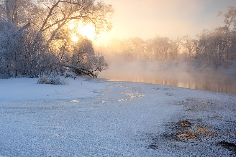 Последние морозы зимы.photo preview