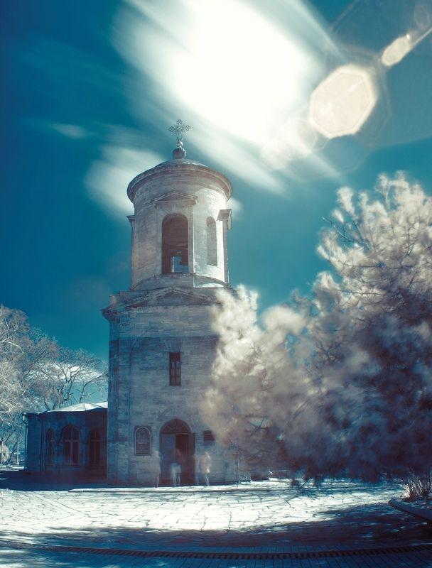 архитектура, древность, старинное, храм, византийское зодчество, православный храм, церковь, храм святого иоанна предтечи, керчь, крым, россия, анатолий щербак По ту сторону видимого света.photo preview