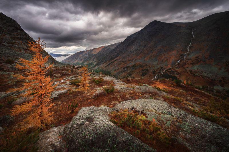 алтай, озеро, горы, лес, природа, закат, рассвет, красота, приключения, путешествие Суровый сентябрь на Куйгукеphoto preview