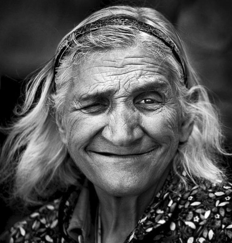 smile, portrait, bw Just Smile :)photo preview