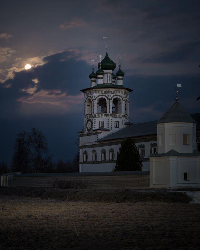 новгородская область, Весеннее полнолуниеphoto preview