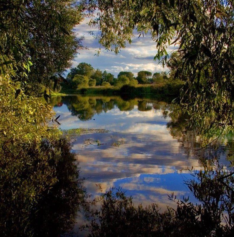 закат, река Закат на Ламеphoto preview