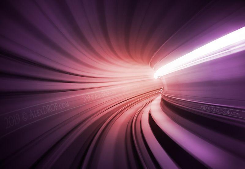nikon, postcard, picturesque, landmark, europe, denmark, copenhagen, travel, urban, architecture, iconic, metro, underground, long exposure, motion Purple vortexphoto preview