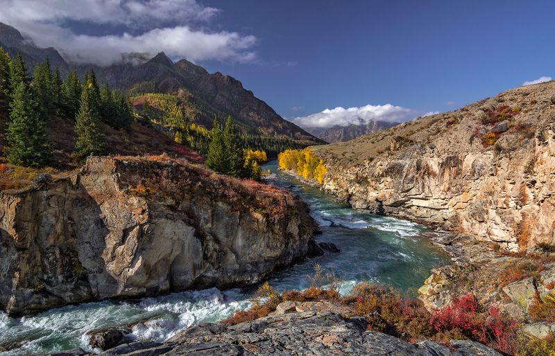 горный алтай,осень,река чуя,порог горизонт Порог Горизонт на Чуе...photo preview