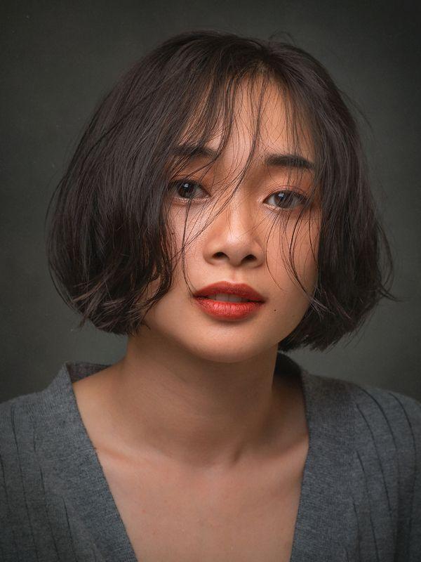 portrait, woman, female, beauty, face, vietnamese, asian, girl, studio * * *photo preview