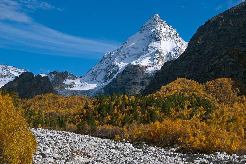приэльбрусье, горы, эльбрус, осень, адылсу Осень в ущелье Адылсуphoto preview