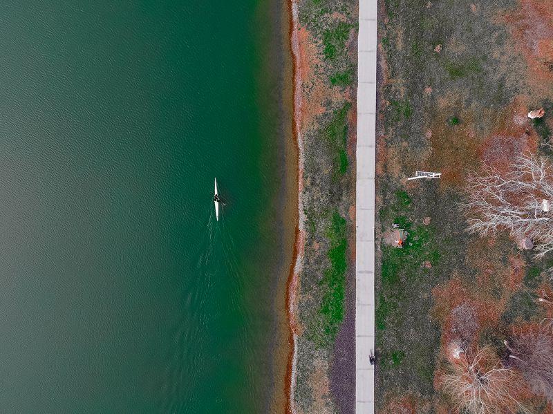 lake, air, drone, dji, mavic 2, dji mavic 2 enterprise dual, landscape Life is a competitionphoto preview