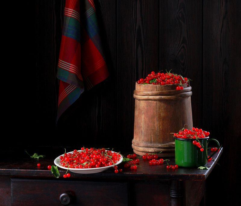 натюрморт, фотонатюрморт, лето, ягода, смородина,  наталья казанцева Про красну ягоду...)photo preview
