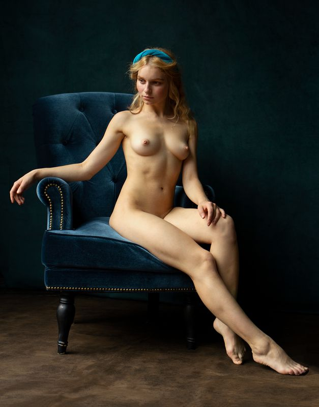 Nude in an armchairphoto preview