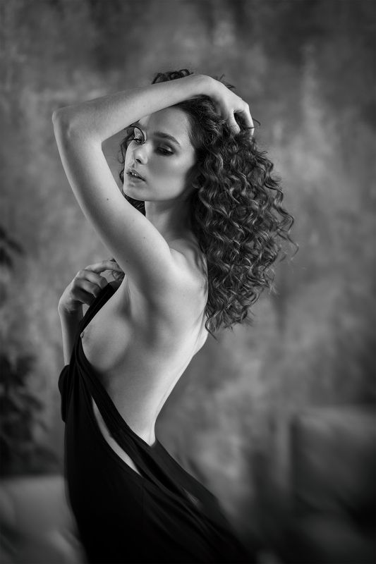 nu, nude, портрет, 85mm, canon Irinaphoto preview