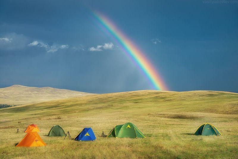 екатеринбург, яковлевфототур, фототур, василийяковлев, урал, долгие горы Радуга в Долгих горахphoto preview