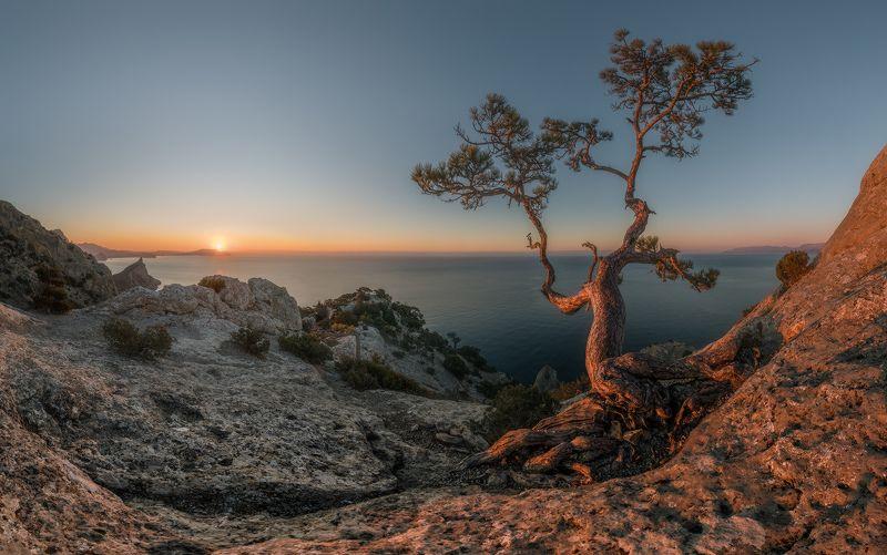 крым, новый свет, пик космос, рассвет, весна Рассвет на пике Космосphoto preview