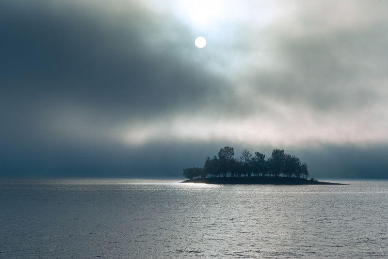 lake, solina, poland, mountains, bieszczady, morning Jezioro Solińskiephoto preview