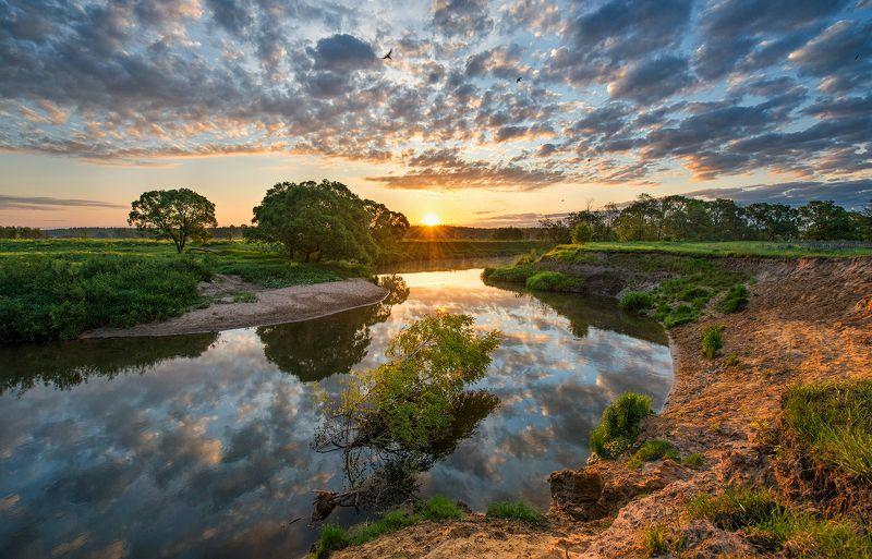 Утро на реке Киржачphoto preview