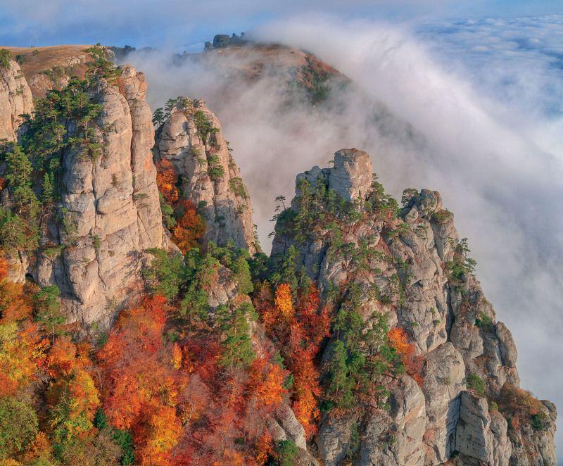 Вид на вершину Северную Демерджи.photo preview