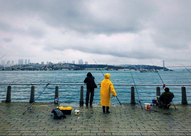 Yellow fishermanphoto preview