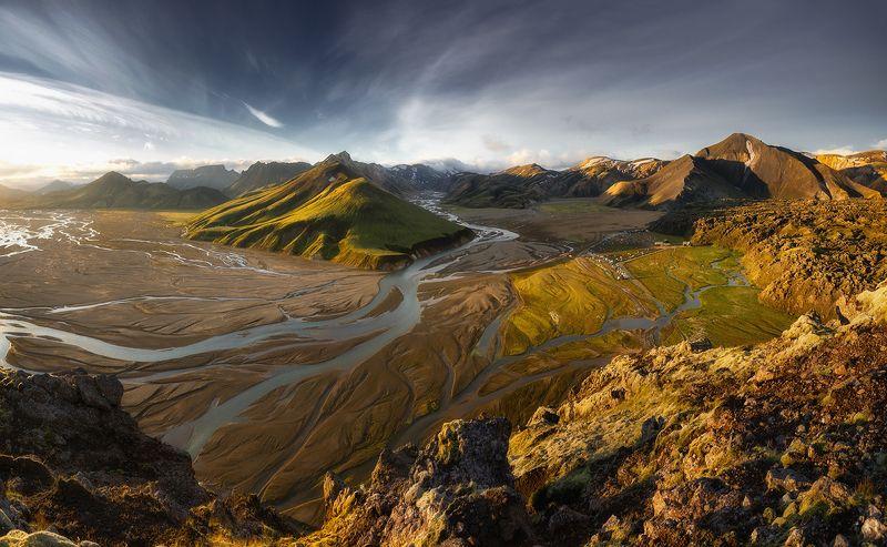 iceland, исландия,landmannalaugar, высокогорье исландии, icelandic highlands, highlands of iceland, landmannalaugar hike Icelandphoto preview