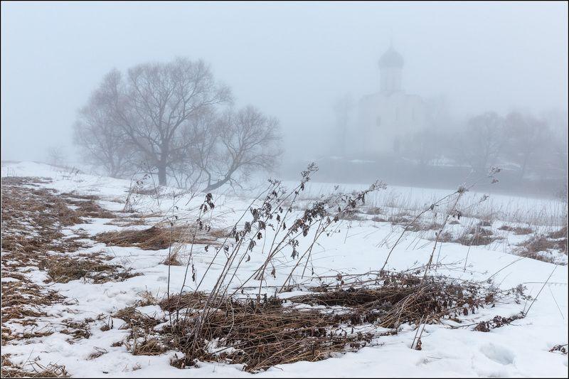 россия, владимирская обл, боголюбово Апрель. Зима пока не отступаетphoto preview