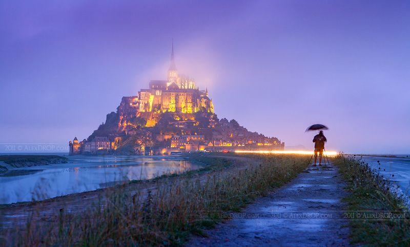 canon, postcard, picturesque, landmark, france, travel, urban, architecture, iconic Мон-Сен-Мишельphoto preview