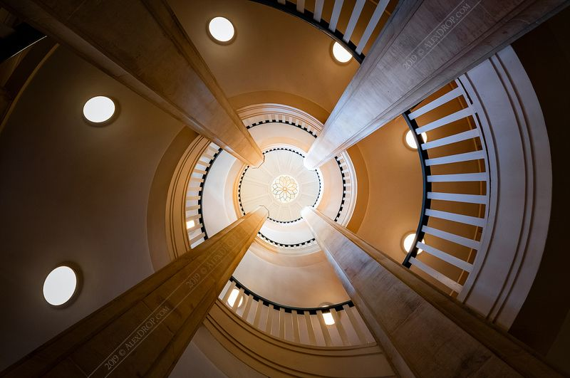 nikon, spiral, geometry, architecture, europe, germany Schwerin Palace spiralphoto preview